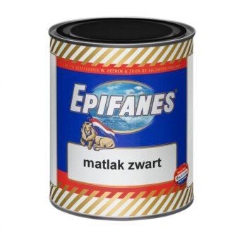 Epifanes bootlak mat zwart A.