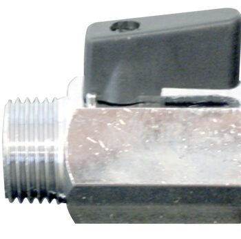 Mini kogelkraan ½ binnen x buitendraad DG5242013D