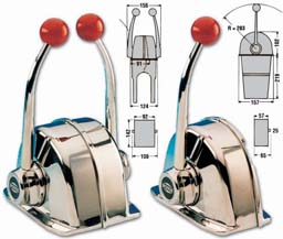 Morse eenhendelbediening MT3 Twin EX2263