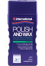 International polish and wax 500ml VDF.B