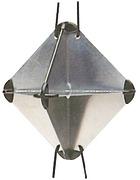 Radarreflector 21x21x30cm  OSC.32.711.70.C