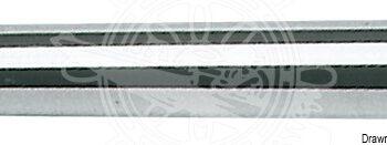 RVS pijp-railingbuis  25mm x2 meter  OSC41.618.00.B