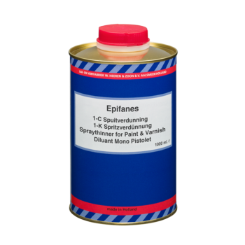Epifanes 1 component spuitverdunning 1 liter A.