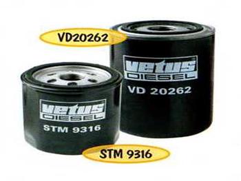 Vetus  VD60092 brandstoffilter voor D(T)4.29