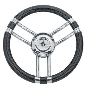 Stuurwiel 35cm carbonfiber-RVS   SV-E