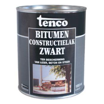 Tenco bitumen constructielak zwart 1L VDF.A