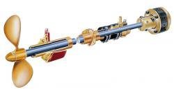 vetus schroefas diameter 40mm SA40/1000